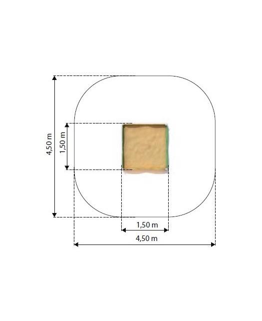 Smėlio dėžė  Sablo 1
