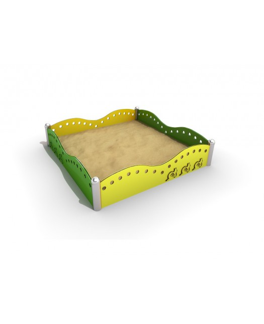 Smėlio dėžė Sablo 2