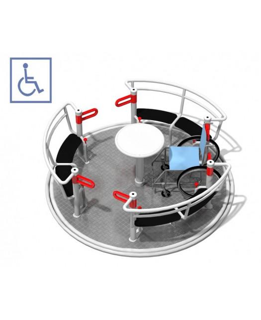 Karuselė neįgaliesiems  Yugo