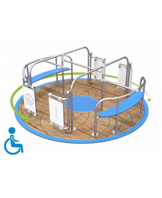Karuselė neįgaliesiams 4078