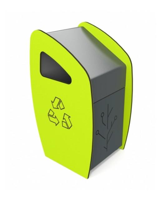 Moderni šiukšlių dėžė 6054